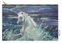 White Spirit Carry-all Pouch