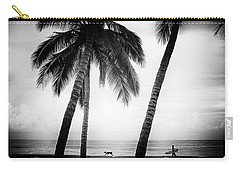 Carry-all Pouch featuring the photograph Surf Mates by Nik West