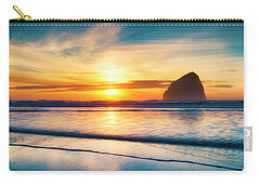 Surf Sunset Carry-all Pouch
