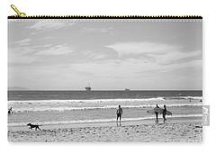 Strollin On Dog Beach Carry-all Pouch