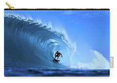 Carry-all Pouch featuring the photograph Surfer Boy by Movie Poster Prints