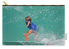 Surfer Boy Carry-all Pouch by  Newwwman