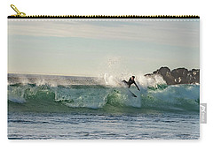 Surfer Carlsbad Jetty Carry-all Pouch
