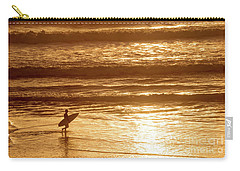 Carry-all Pouch featuring the photograph Surfer by Delphimages Photo Creations