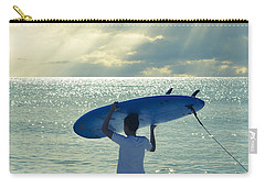 Surfer Girl Square Carry-all Pouch