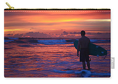 Surfer Sunset Costa Rica Carry-all Pouch