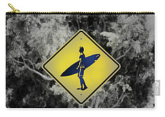 Surfer Xing Carry-all Pouch