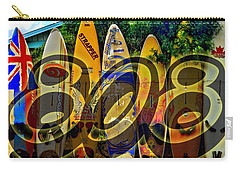 Surfin' 808 Carry-all Pouch by DJ Florek