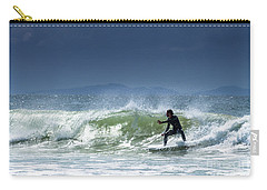 Surfing At Byron Bay Carry-all Pouch