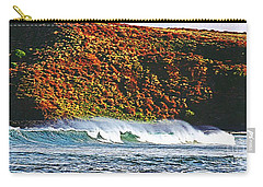 Surfing The Island Carry-all Pouch