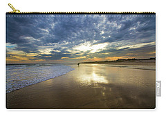 Surf's Up At Rogers Beach Carry-all Pouch