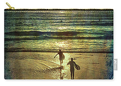 Surfs Up Yip Yip Carry-all Pouch by Linda Olsen