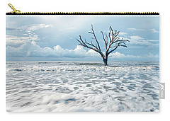 Carry-all Pouch featuring the photograph Surfside Tree by Phyllis Peterson