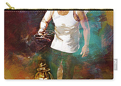 Carry-all Pouch featuring the painting Surreal Art  by Gull G