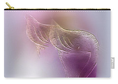 Carry-all Pouch featuring the digital art Surreal Calla 2 by John Krakora