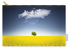 Surreal Canola Field Carry-all Pouch by Bess Hamiti