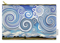 Surreal Cloud Blue Carry-all Pouch