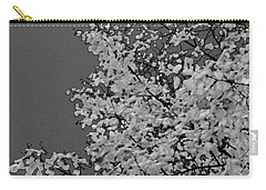 Surreal Deconstruction Of Fall Foliage In Noir Carry-all Pouch