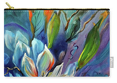 Surreal Magnolias Carry-all Pouch