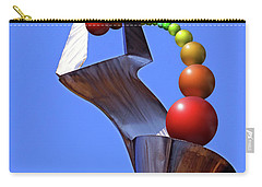 Carry-all Pouch featuring the photograph Surreal Rainbow by Christopher McKenzie