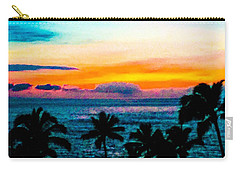 Surreal Sunset Carry-all Pouch