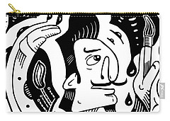 Surrealism Painter Carry-all Pouch