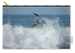 Surrender Carry-all Pouch by Fraida Gutovich