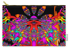 Carry-all Pouch featuring the digital art Surrender by Robert Orinski