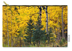 Surrounded By Gold Carry-all Pouch by Diane Alexander