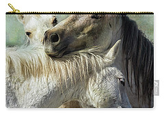 Carry-all Pouch featuring the photograph Surrounded By Love by Belinda Greb