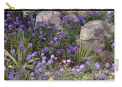 Surrounded By Purple Flowers Carry-all Pouch