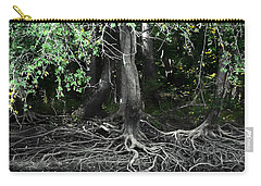 Carry-all Pouch featuring the photograph Survival Of The Fittest by Debra Forand