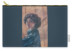 Susan Berger - Suzn Smith - Self Portrait Carry-all Pouch