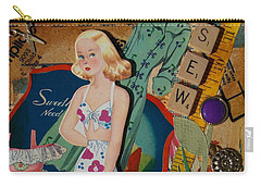 Susan Carry-all Pouch by Virginia Coyle