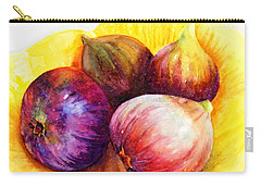 Susan's Figs Carry-all Pouch by Bonnie Rinier