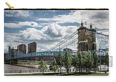 Suspension Bridge Color Carry-all Pouch by Scott Meyer