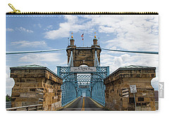 Suspension Bridge Wide Angel Carry-all Pouch