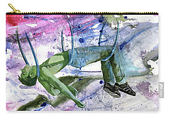 Carry-all Pouch featuring the painting Suspension Of Fate by Rene Capone