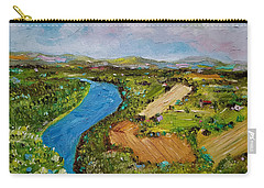 Carry-all Pouch featuring the painting Susquehanna Valley by Judith Rhue