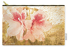 Carry-all Pouch featuring the photograph Sutle Harmony by Bonnie Willis