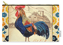 Suzani Rooster 1 Carry-all Pouch