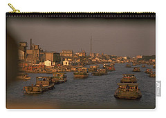 Carry-all Pouch featuring the photograph Suzhou Grand Canal by Travel Pics