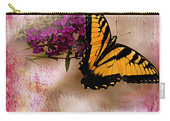 Swallow Tail Full Of Beauty Carry-all Pouch