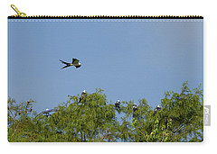 Swallow-tailed Kite Flyover Carry-all Pouch