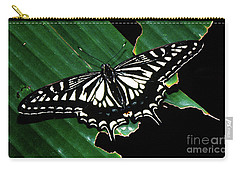 Swallowtail Butterfly- Close Carry-all Pouch