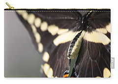 Swallowtail Departing Carry-all Pouch by Mary-Lee Sanders