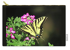 Swallowtail In The Garden 1 - Visions Of Spring Carry-all Pouch