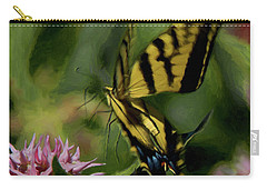 Swallowtail Liftoff Dp Carry-all Pouch