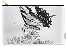 Carry-all Pouch featuring the photograph Swallowtail Splendor II by Anita Oakley