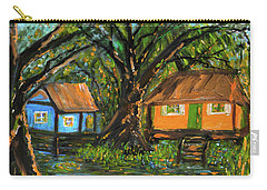 Swamp Cabins Carry-all Pouch by Christy Usilton